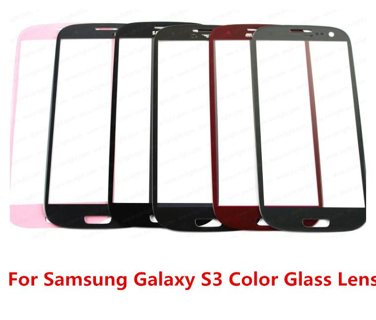 Great Quality Good Price Colorful 100% Original New Outer Replacement Screen Glass Lens for Samsung Galaxy S3 SIII i9300