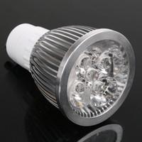 Wholesale Mr16 Led Blue 12v - free shipping 1PCS 5*3W GU10 GU5.3 E27 E14 MR16 15W LED Spot light lamp Dimmable High Power bulb warm cool white 80W 12V 110V 220V 240V