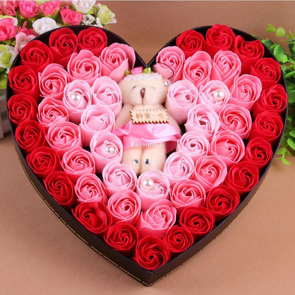 Girlfriend gifts to send the teacher gift box set 16 rose soap girlfriend gifts to send the teacher gift box set 16 rose soap flower soap flower bear crafts cheap crafts china crafts suppliers online with 9358piece izmirmasajfo