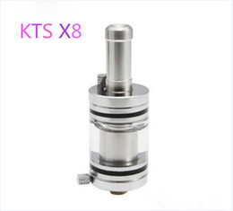 Wholesale Cartomizer Tank X6 - Cest Best KTS X8 Odysseus Rebuildable Clearomizer Atomizer Cartomizer Big Tank Transparent for Telescope KTS K100 K101 K200 X6 E-cigarette