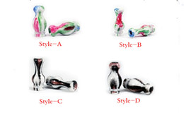 Wholesale Ego T Mouthpiece - New design porcelian Mouthpiece fashion Drip Tip 510 type fit to almost atomzer for ego-t ego-c ego-vv ego c Electronic Cigarette