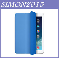 Wholesale Ipad Mini Case Magnetic Genuine - 1:1 Official Genuine Quality Smart Cover Magnetic Case Sleep Wake UP Function for Apple iPad Air Mini 2 5 Mini2 iPadAir iPadMini iPadMini2