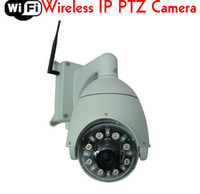 Wholesale Ccd Zoom Wireless - CCTV 7 inch 480TVL 27x optical zoom Wireless Night vision Wifi IP PTZ Dome Camera