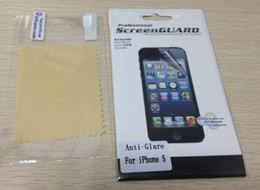 Wholesale Iphone4 Lcd Screens - anti -Glare matte LCD Screen Protector guard cover Brand new anti-scratching for iphone4 iphone 4 4s DHL Free Ship