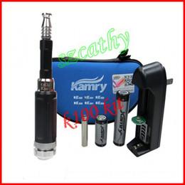 Wholesale Ego Mech Mod Ecig - New k100 ego e cigarette starter kit e cig k100 Mech Mod Ecig with Rechargeable 2200mah Battery e cigarette via DHL