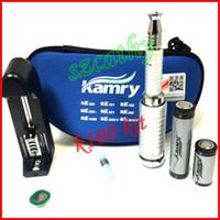 Wholesale E Cig New Design - New design k100 ego e cigarette starter kit e cig k100 Mech Mod Ecig with Rechargeable 2200mah Battery e cigarette via DHL