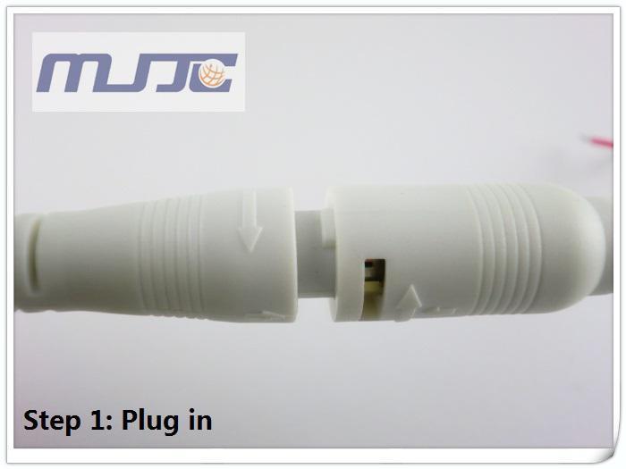 dc 12 فولت أدى ضوء ل امدادات الطاقة ربط بإحكام قوة التوصيل جاك موصل 5.5x2.1 ملليمتر ذكر أنثى مقبس الحبل سلك كابل 30 سنتيمتر