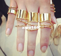 Wholesale Girls Nice Tops - Recommend! 2013 New fashion Jewelry punk Twine finger rings set nice gift for women girl ladie's wholesale Top quality R907