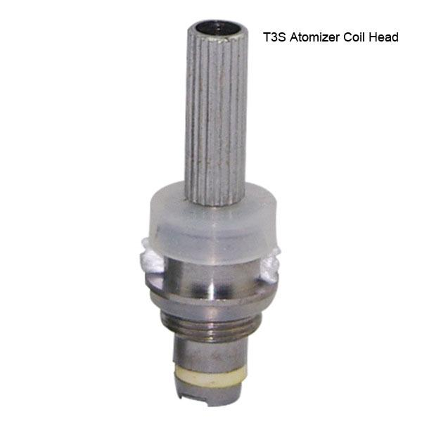 Factory price T3S Atomizer Core replacement T3S Coil Head T3S Clearomizer replace Coil Head for ego t ego vv twist mt3 evod battery