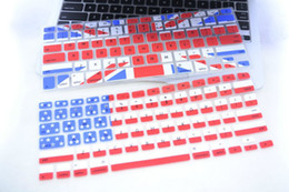 $enCountryForm.capitalKeyWord Canada - USA Australia Canada Uk Flag Silicone Keyboard screen protector covers for Macbook Air Pro 11 13 15 inch