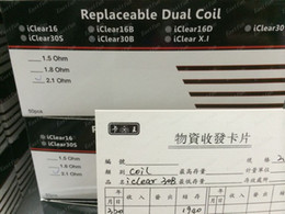 Wholesale Iclear Coil Core - Factory price Innokin iClear 30B Bottom Dual Coil Replacement replaceable Only rebuildable dual coil Head in stock