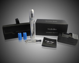 Wholesale Electronic Cigarette V Max Set - TOP e cigarette Vmax 2 sets V-life max ego-v9 kit ego V9 kit series with mini vivi nova CE5 clearomizer V9 body Factory Offer Directly