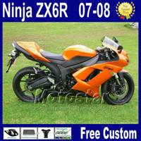 Wholesale kawasaki ninja 636 parts for sale - Group buy 7 Gifts ABS fairings kit for Kawasaki ZX R Ninja ZX6R ZX R zx636 motobike parts fairing kits za14