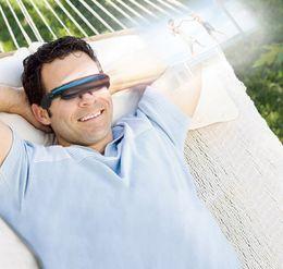 Wholesale Eyewear Displays - Prober 52inch Virtual Video Glasses Eyewear LCD Display VR All in One DVD Player Free Shipping
