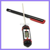 indicateur de barbecue achat en gros de-Wireless Kitchen Digital Food Probe BBQ Thermomètre électronique Temperature Tester Water Temp Gauge
