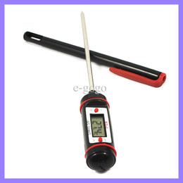 Wholesale water gauge digital - Wireless Kitchen Digital Food Probe BBQ Thermometer Electronic Temperature Tester Water Temp Gauge