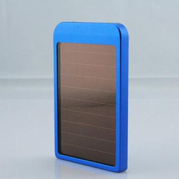 Wholesale Solar Phone Chargers For S3 - 2600Mah Solar Battery Charger Portable Power Bank USB Energy Panel for iPhone 5 Samsung S3 S4 Note 2 N7100 Mobile Phones Mp3 Mp4 playe