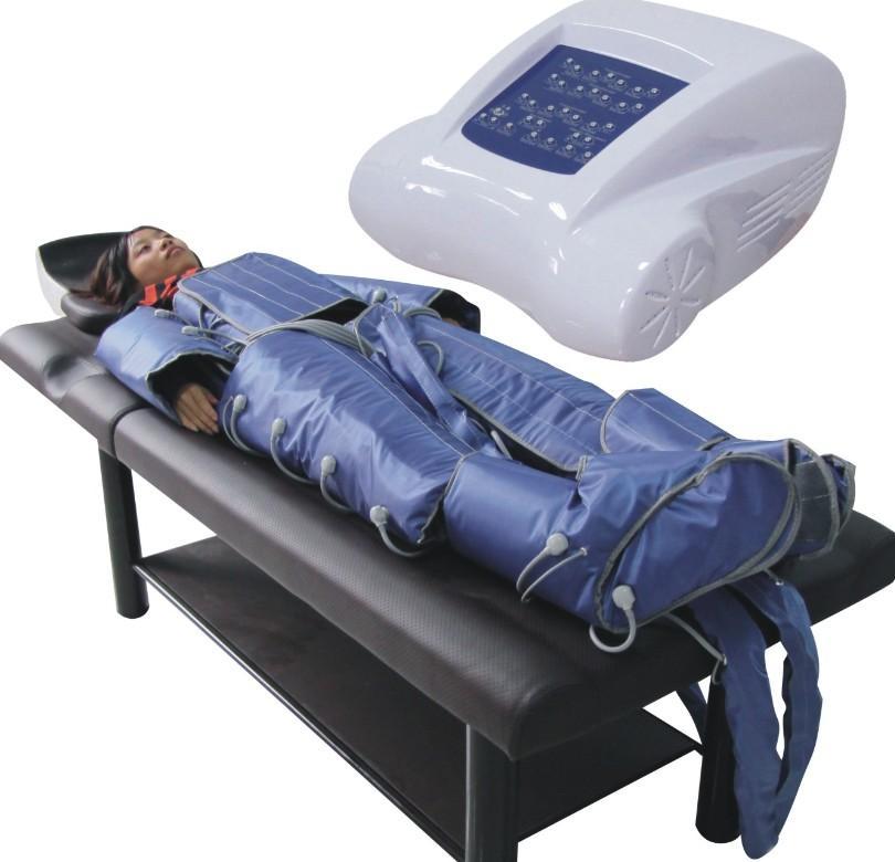 赤外線リンパ排水機を備えた1つの空気圧療法の携帯3