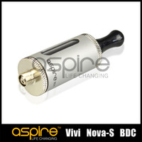 Vente en gros - Aspire vivi nova s ​​BVC Clearomizer Cigarette atomiseur électronique 3.5ml e-cigarette bottom Bobine verticale Cartomizer DHL Free