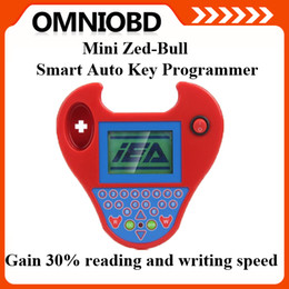 Wholesale Transponder Key Code Reader - Newly Super Smart MINI Zed Bull Auto Key Programmer Small Zed-Bull Transponder Key Mini Zedbull Multi-Language