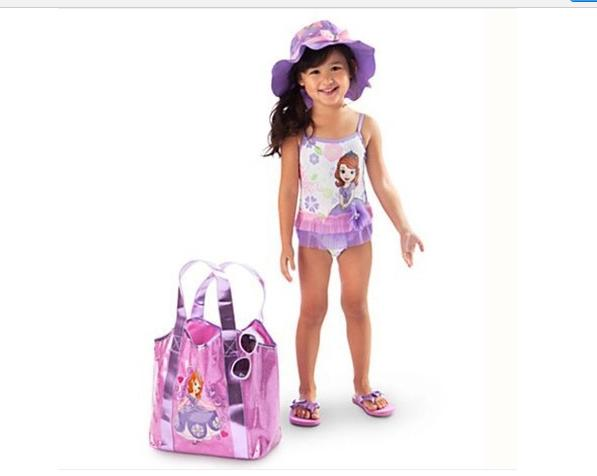 2018 2014 Sofia The First Girl One Piece Swimwear Cartoon Swimmer Bather Swimsuit Sofia Swimming Costume For Girls Top Quality From Babyhomey ...  sc 1 st  DHgate.com & 2018 2014 Sofia The First Girl One Piece Swimwear Cartoon Swimmer ...