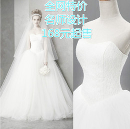 Wholesale Sweetheart Bodice Princess Skirt Dress - 2016 fashionable vestido de noiva sexy simple lace wedding dresses bridal wedding ball gowns plus size maternity customize dress