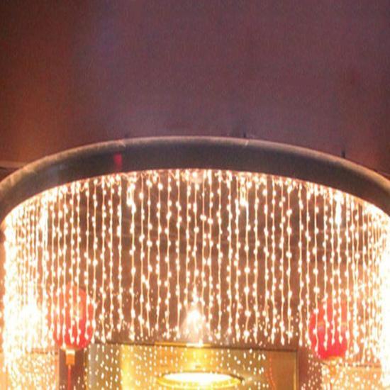 240 v AB UK ABD AU fişi - 10 M * 0.5 M 320LED LED şerit ip perde saçağı Noel Bahçe Festivali 110 v lambalar