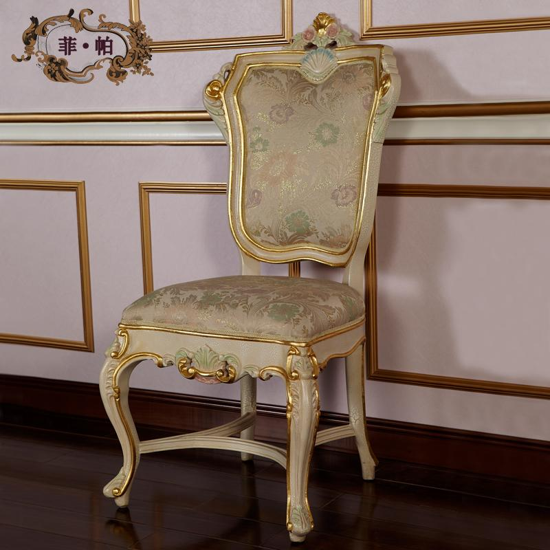 Antique Furniture Italian Reproduction  Antique Hand Carved Chair Furniture   Dining Room Furniture Luxury French Furniture  Free Shipping