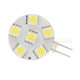 Wholesale Under Voltage - LED G4 Lamp 6LEDS 5050SMD Round Bulb Dimmable 24V 12V Working Voltage Super Bright Under Cabinet
