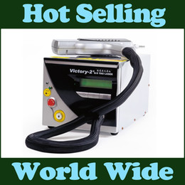 Wholesale Top Q - Eu tax free Top quality 1064nm 532nm Q Switched Nd Yag Laser Tattoo Removal Machine Age spots Freckle Pigment Removel beauty salon equipment