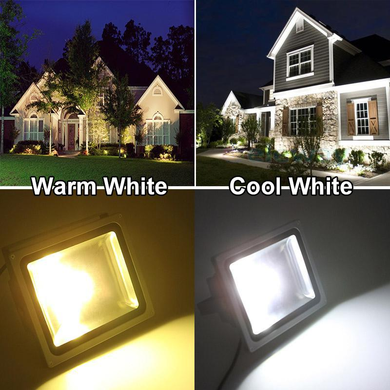 Led floodlight 10w 20w 30w 50w waterproof ip65 led outdoor spotlight feature mozeypictures Images