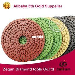 "Wholesale Granite Diamond Polishing Pads - free shipping 4""(100mm) wet diamond polishing pads for Granite and Marble granite polishing pads"