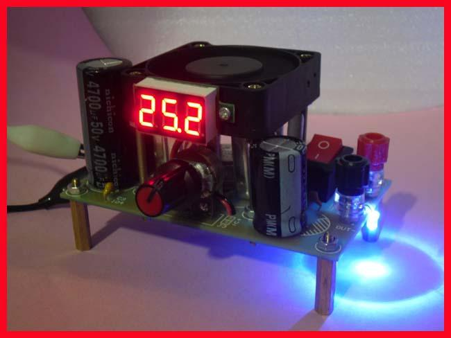 Free Shipping! 1pc 3A Voltage Digital LM338k high power adjustable linear  regulator Module Kit mode step-down regulator
