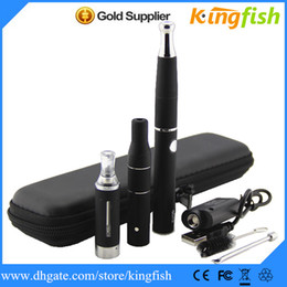 Wholesale Ego Battery G5 - Ego Electronic Cigarette Dry Herb Vaporizer Pen mod E Cigarette EVOD battery+MT3 EVOD tank+wax ego d+ago g5 kingfish 3in1 ecig ego cigarette