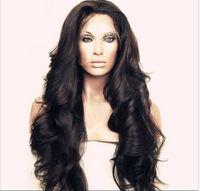 Wholesale Long Half Wig Human Hair - 130% Density Brazilian Virgin Hair Body Wave Lace Front Wigs Glueless Full Lace Wig Full Lace Human Hair Wigs For Black Women