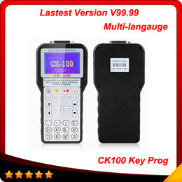 Wholesale Sbb Car Key - 2016 New auto scanner the Latest Car key programmer CK-100 CK100 Auto Key Programmer V99.99 Generation of SBB free shipping