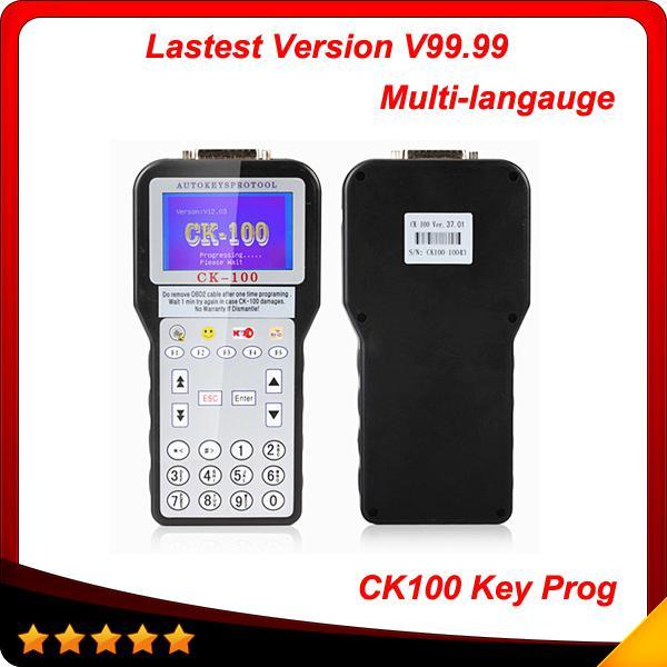 2016 New auto scanner the Latest Car key programmer CK-100 CK100 Auto Key Programmer V99.99 Generation of SBB free shipping