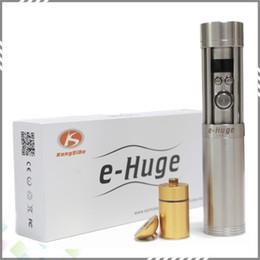 Wholesale Electronic Cigarette Battery Large - Newest E-Huge Vamo Extension Tube 4800mah E Huge E Cig Large Vapor 26650 battery DHL Free