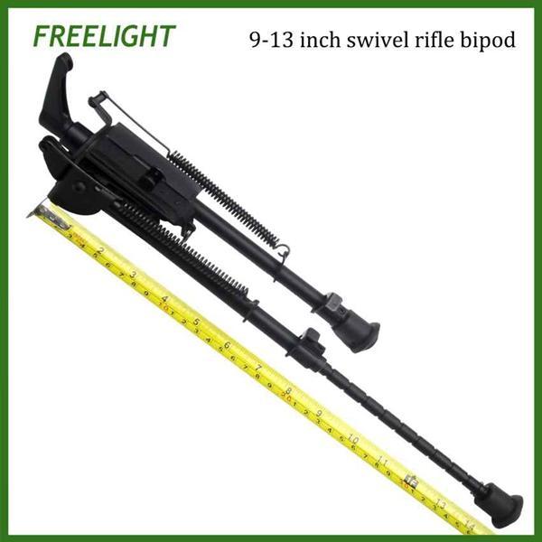 9-13 pulgadas Universal Picatinny rail Mount Harris Style Bipod para Rifle táctico con loc. De pod Loc Handle Kits para Bipodes giratorios