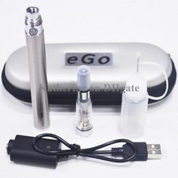 Wholesale Ego C Twist Starter - eGo C Twist Kits CE4 Atomizer E Cigarette E Cig Starter Kits eGo-C Twist Battery 650mah 900mah 1100mah Electronic Cig Various Colors Instock