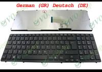 clavier vaio achat en gros de-Nouveau et original clavier d'ordinateur portable pour Sony Vaio SVE15 SVE1511 SVE1511 noir * AVEC Cadre * allemand GR Deutsch version - 149031921