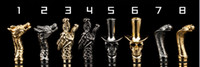Wholesale Ego Snake Tips - Drip Tip of Metal Mouthpiece as Skull Sheep Dragon Head snake Shape for CE4 510 glass atomizer Protank T3 ego atomizer Electronic Cigarette