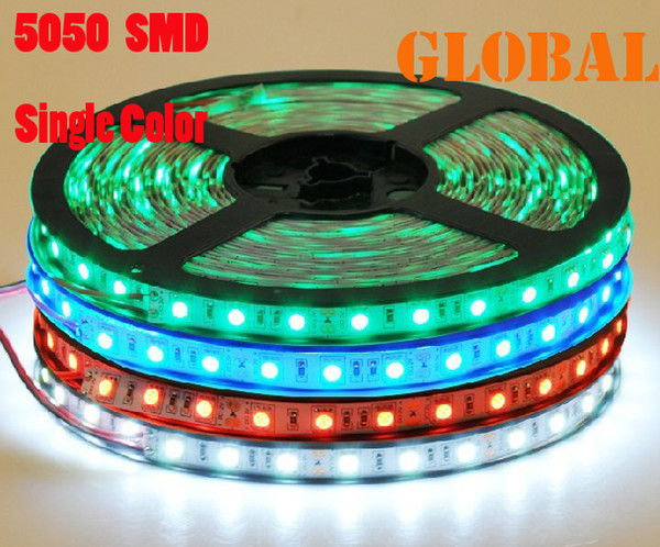 sports shoes a86ca 17c72 10M 2 Rolls 5050 SMD LED Strip Lights Led Ribbon Warm White Single Color  NONWaterproof 300leds/5M 10 Meter Indoor Lighting DC 12V Strip Led Lights  ...