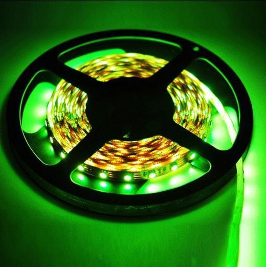 200meter RGB LEDストリップ照明5050 SMD 200mのフレキシブル30LED 5M /ロール非防水DC 12V 16色Home DHL経由の屋内クリスマスライト