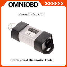 Wholesale Clip Diagnostic - Newest Version V153 Professional Diagnostic Tool Renault Can Clip with Multi-language Can clip scanner Free Shipping