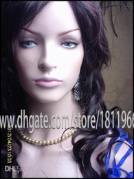 Wholesale Wigs For Cheaper - female Hair Fiberglass mannequin head bust for hair ace wig  Jewelry display High quality wholesale cheaper!!
