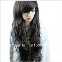 Wholesale Sexy Stylish Nice Beautiful Fashion Women s Long Curl Curly Wavy Blonde Hair Wig