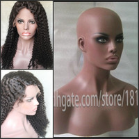 Wholesale Wig Mannequin Bust - Realistic mannequin head bust for human hair wig   jewelry collection