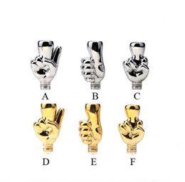 Wholesale Gold Vivi Nova - Chrome Finger Drip Tip 510 Gold Drip Tips EGO Atomizer Mouthpieces For CE4 CE5 CE6 Vivi Nova Protank Tanks Clearomizer Electronic Cigarette