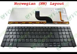 Original Laptops Canada - New and Original Notebook Laptop keyboard FOR Acer Aspire 5810 5810T 5410T 5536 5536G 5738 5740 8935 8940 Backlit Black Norwegian NW Version